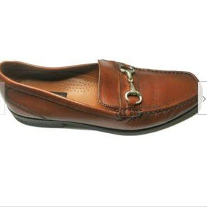 Bostonian Shoes - Bostonian Loafer Casual Brown Leather Slip On 11M